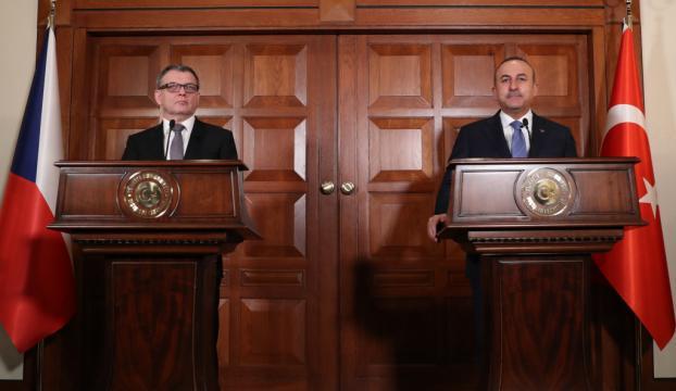Çavuşoğlu-Zaoralek ortak basın toplantısı