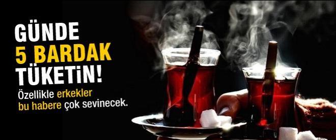 Çay, kanser riskini azaltıyor