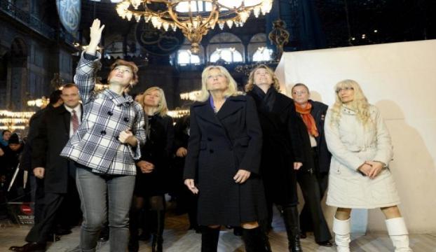 Jill Biden, Ayasofya Müzesini gezdi