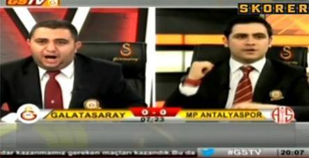 testBurak attı GS TV spikeri kendinden geçti!