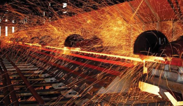 Yaz sıcaklığı çelik üretimini vurdu