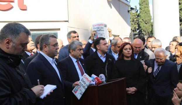 CHPden Cumhuriyet gazetesi açıklaması