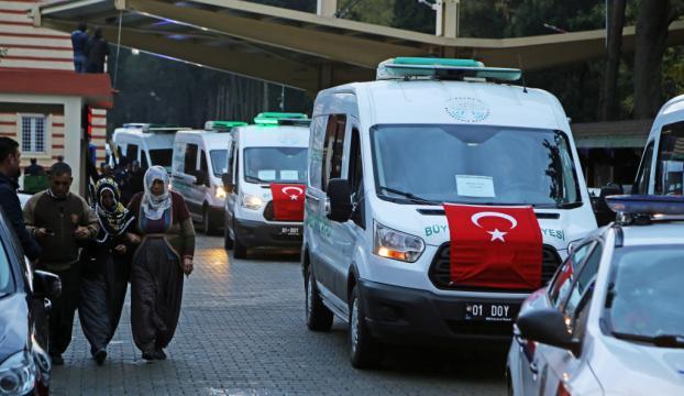 Adana Yurt Yangını: Cenazeler evlerine gönderildi