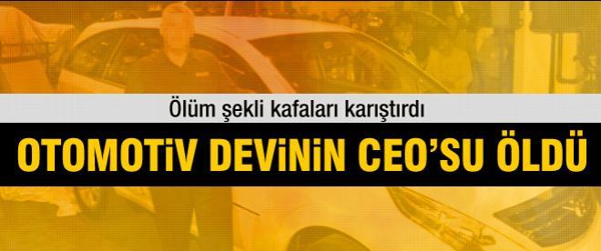 Otomotiv devinin CEO'su öldü!