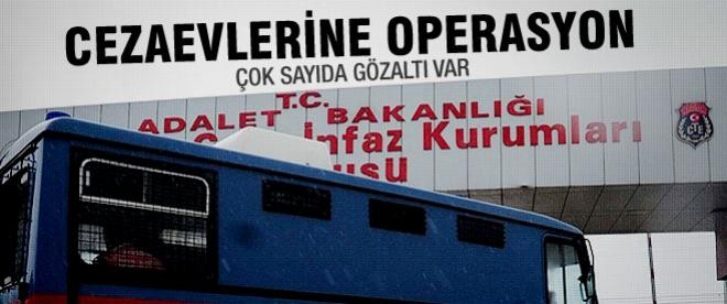 İstanbul'da cezaevi personeline operasyon