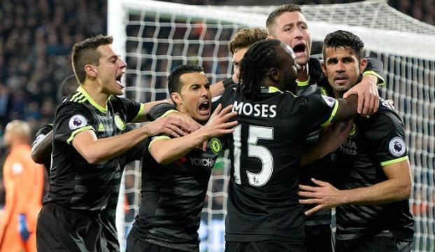 Chelsea derbi maçtan galip ayrıldı
