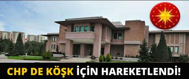 CHP'de Köşk için onun adı geçiyor!