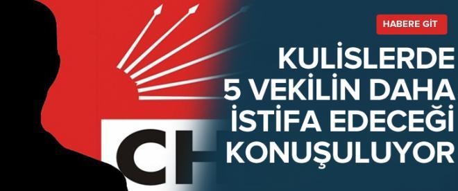 CHP'de yeni istifalar yolda