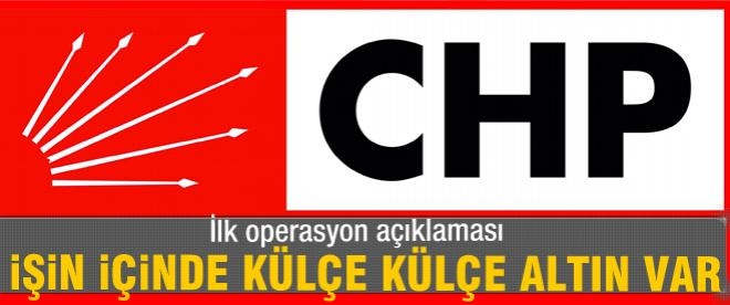 CHP'den yolsuzluk operasyonuna ilk yorum