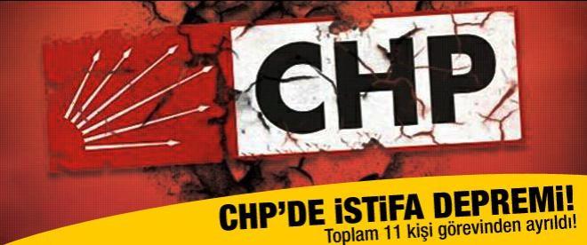 CHP'de istifa depremi!