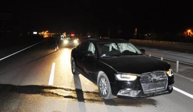 Hilal Dokuzcan trafik kazası geçirdi