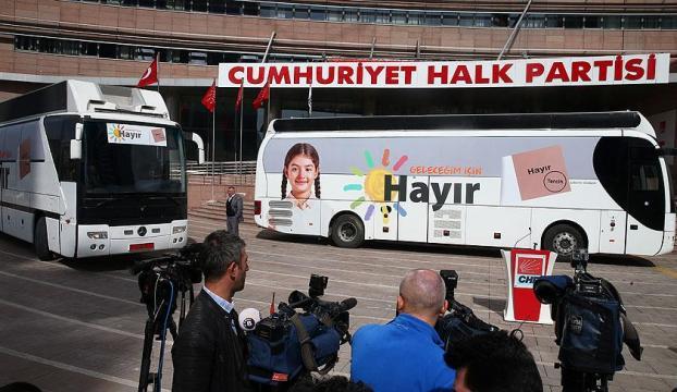 CHPnin kampanya logosu tanıtıldı