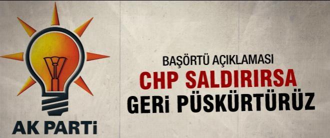 AK Parti'den ilk başörtülü vekil açıklamsı