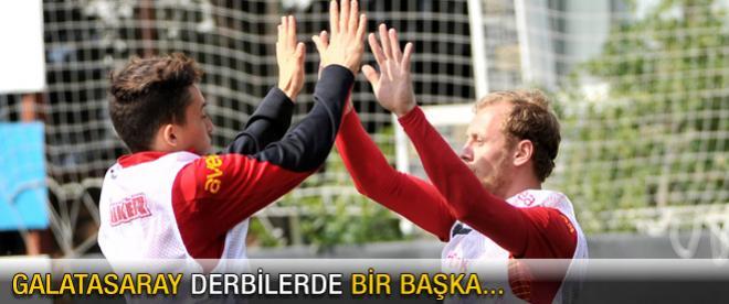 Galatasaray derbilerde bir başka...