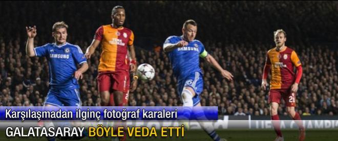 Galatasaray böyle veda etti