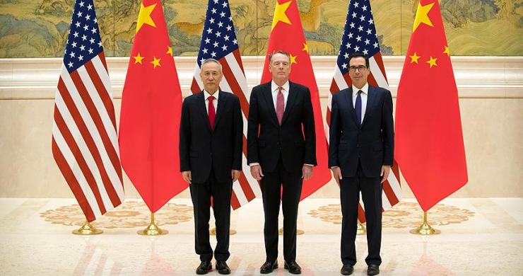 Çin ve ABD ticari müzakereleri Pekin'de başladı