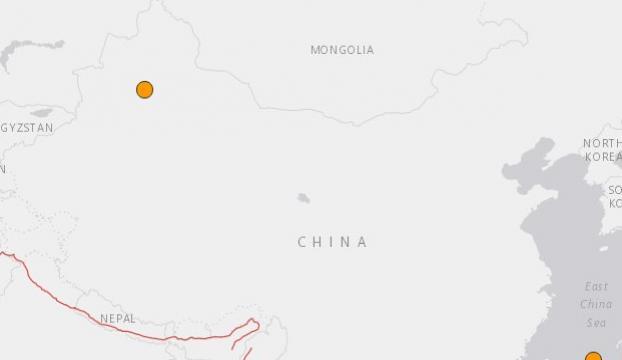 Çinin Uygur bölgesinde 6,2 büyüklüğünde deprem