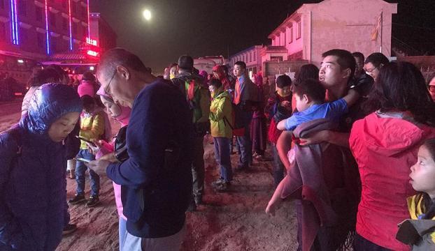Çinde 7 büyüklüğündeki deprem : 13 ölü