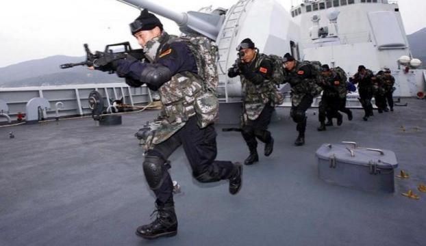 Çinden Bohay Körfezinde askeri tatbikat