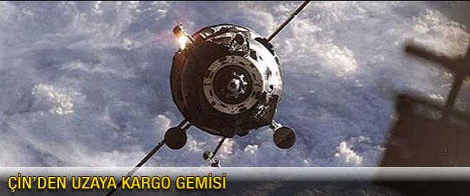 Çin uzaya kargo gemisi gönderecek