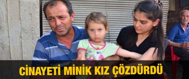 Cinayeti 5 yaşındaki kız ortaya çıkardı