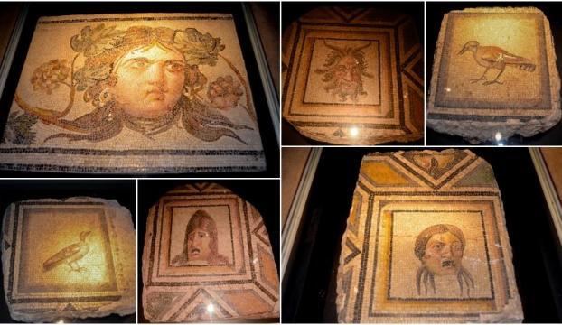 """""""Çingene Kızı"""" mozaiğinin ABDdeki kayıp parçaları Türkiyeye dönüyor"""