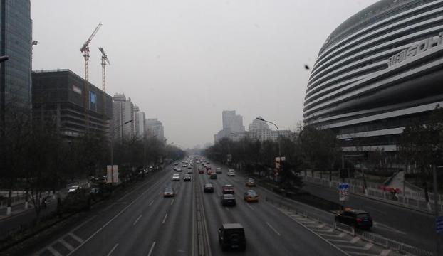 Çinde hava kirliliği alarmı