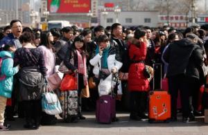 """Çin'de """"Çunyün"""" tatili başladı, 356 milyon kişi yola çıktı"""