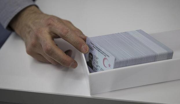 Çipli kimlik kartlarına 2 milyon başvuru