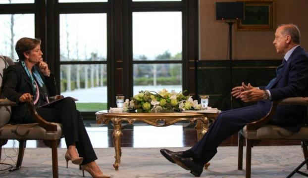 Cumhurbaşkanı Erdoğan CNN Internationala konuştu