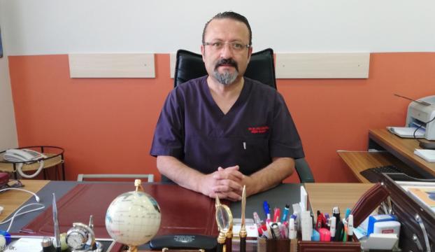 Kovid-19u yenen profesör doktor yeniden göreve başladı