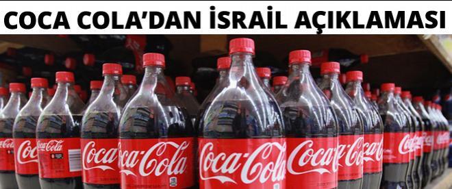Coca-Cola'dan İsrail açıklaması