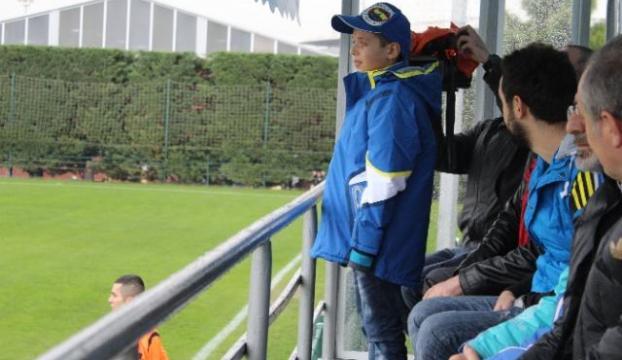 Çok sevdiği Fenerbahçenin maçında