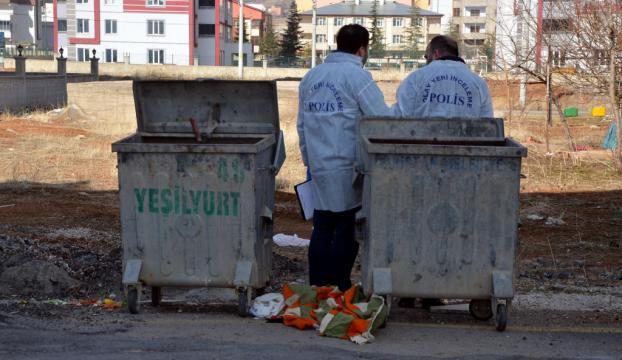 Çöp konteynerinin yanında bebek cesedi bulundu