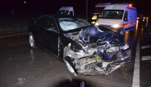 Çorumda feci kaza: 1 ölü, 6 yaralı