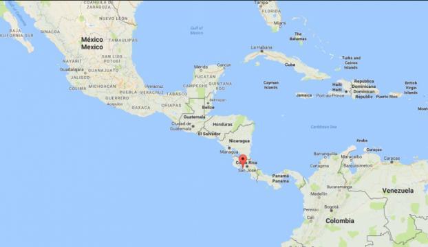 Kosta Rikada 6,4 büyüklüğünde deprem