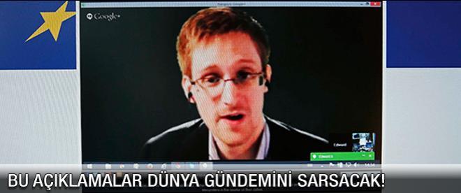 Snowden'den dünyayı sarsacak tüyler ürperten açıklamalar