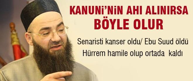 Cübbeli Ahmet Hoca sert Muhteşem Yüzyıl yorumu