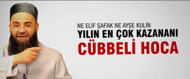 Cübbeli Ahmet Hoca en çok kazanan yazar oldu