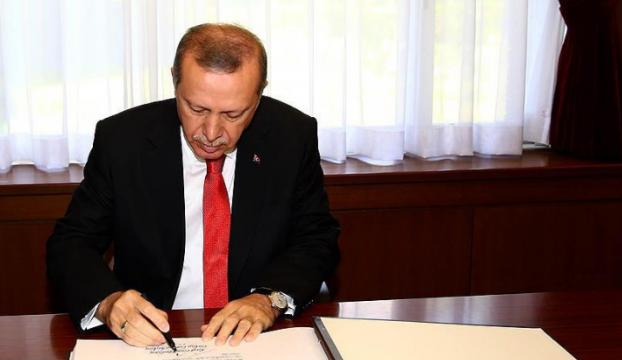 Cumhurbaşkanı Erdoğanın onayladığı 30 kanun yürürlüğe girdi