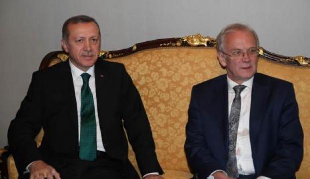 Erdoğan Estonya Parlamentosunu ziyaret etti