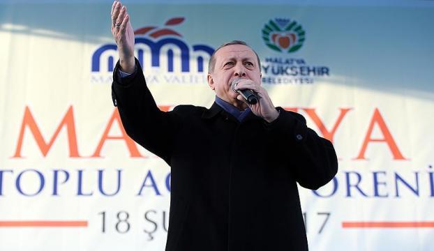 Erdoğan: Cumhurbaşkanlığı sistemi meselesi şahsi bir ihtirasın ürünü değil