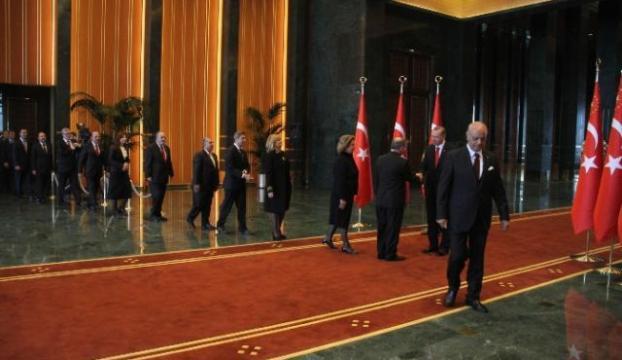 Cumhurbaşkanlığı Sarayında ilk davet