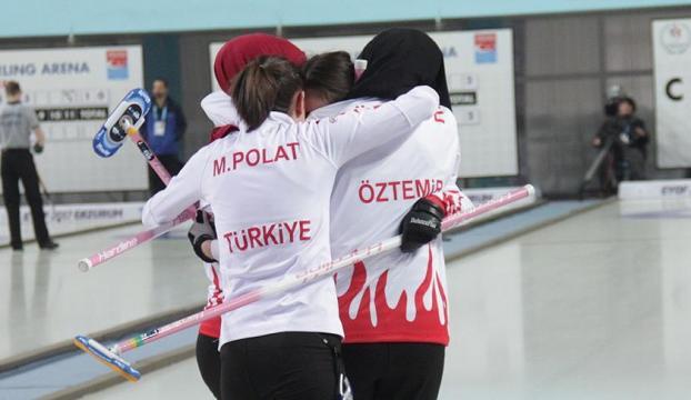 Türkiye curling kızlarda finale çıktı