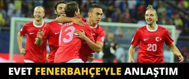 Golcü oyuncu Fenerbahçe ile anlaştı!