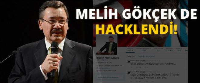 Siber Ergenekon Gökçek'i hackledi!