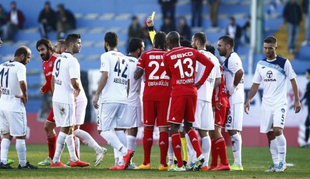 Beşiktaşlı futbolculardan fair play dersi