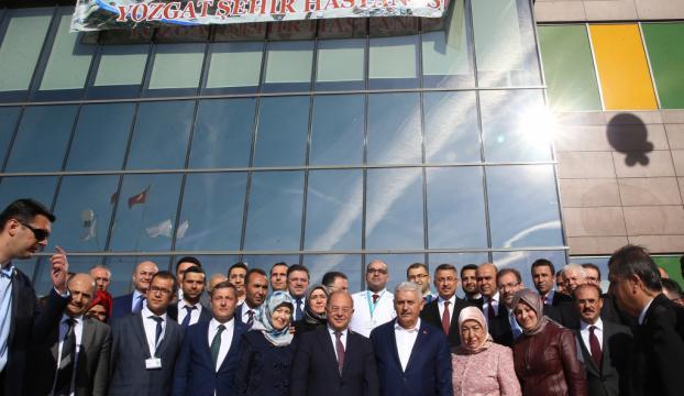 Yozgat Şehir Hastanesi açılış töreni
