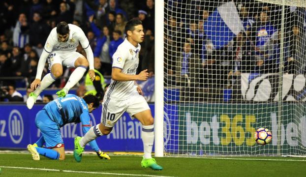 Real Madrid, Deportivodan 3 puanı kolay aldı