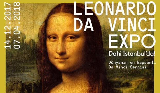 """Leonardo Da Vinci Expo: Dahi İstanbulda"" sergisi"